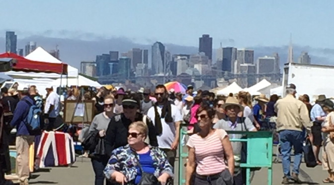 Antiquing in the Bay Area:  the Alameda Point Antiques Faire