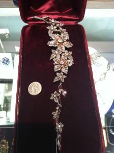 Long Diamond Bodice Ornament
