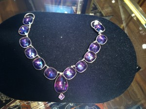 Queen Anne Paste Necklace