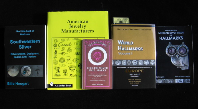 Building a Library of Jewelry Books:  Hallmarks and Maker's Marks