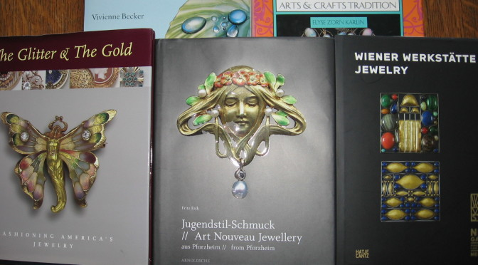 Building a Library of Jewelry Books:  Art Nouveau, Arts and Crafts, and Jugendstil
