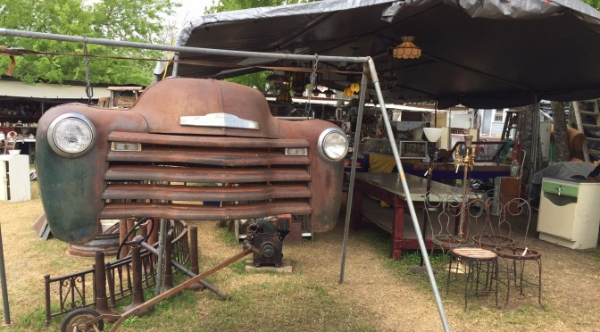 Antiquing in Texas:  Round Top