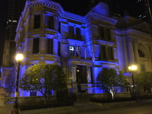 Driehaus Museum at night