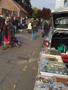 antique markets in london