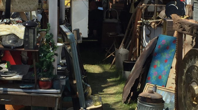 Antiquing in Brimfield